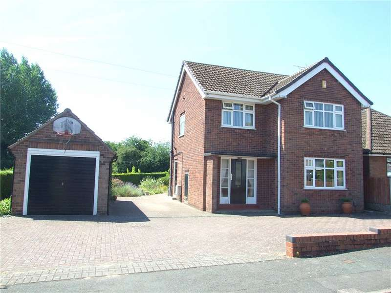 3 Bedrooms Detached House for sale in Welbeck Grove, Allestree, Derby, Derbyshire, DE22