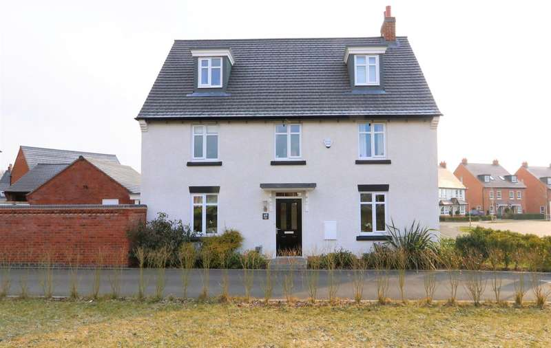 5 Bedrooms Property for sale in Dunbar Way, Ashby-De-La-Zouch, LE65 1AT