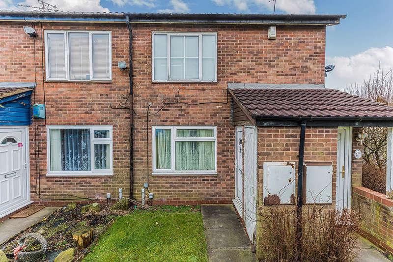 1 Bedroom Flat for sale in Hafren Close, Rubery,Rednal, Birmingham, B45