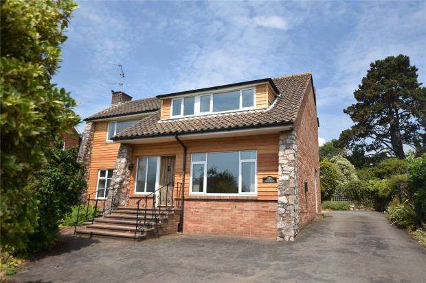 4 Bedrooms Detached House for sale in Maer Vale, Exmouth, Devon