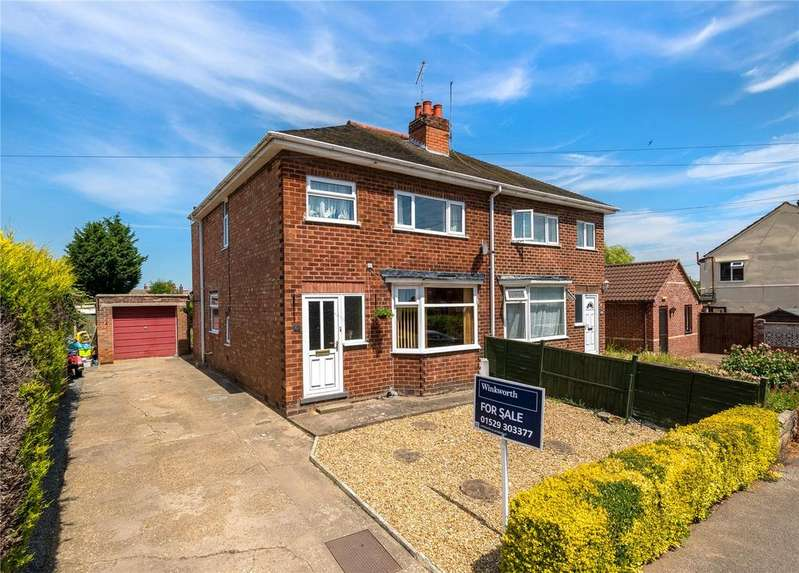 3 Bedrooms Semi Detached House for sale in Cameron Street, Heckington, Sleaford, Lincolnshire, NG34