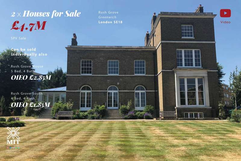 9 Bedrooms House for sale in Rushgrove Street, Woolwich