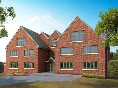 2 Bedrooms Flat for sale in Evington Lane, Leicester