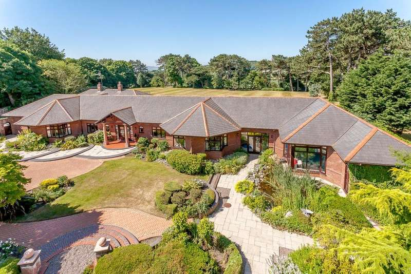5 Bedrooms Detached House for sale in Torpenhow, Montgomery Hill, Frankby, Wirral, CH48