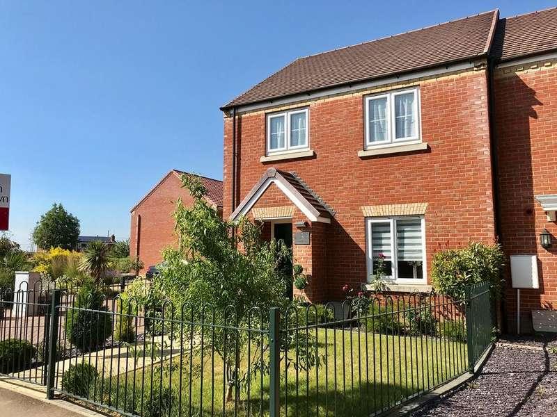 3 Bedrooms Semi Detached House for sale in Derwent Way, Spalding, PE11