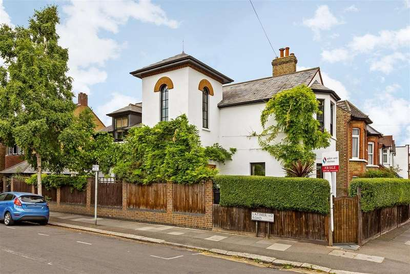 4 Bedrooms Detached House for sale in Wycliffe Road, Wimbledon