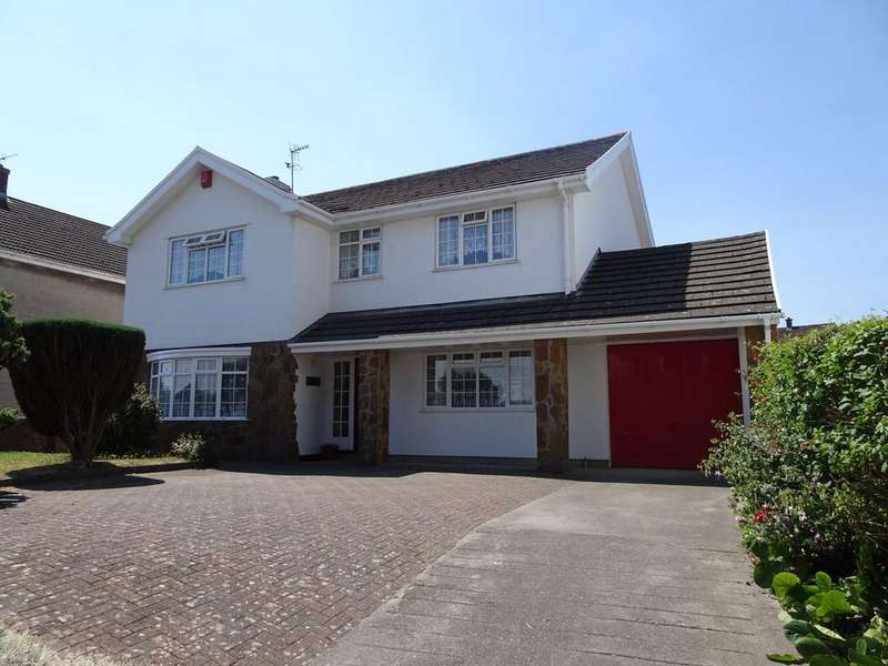 4 Bedrooms Detached House for sale in HEOL FACH, NORTH CORNELLY, CF33 4LH