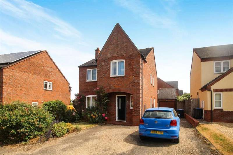 4 Bedrooms Detached House for sale in Hillside, Harbury, Leamington Spa