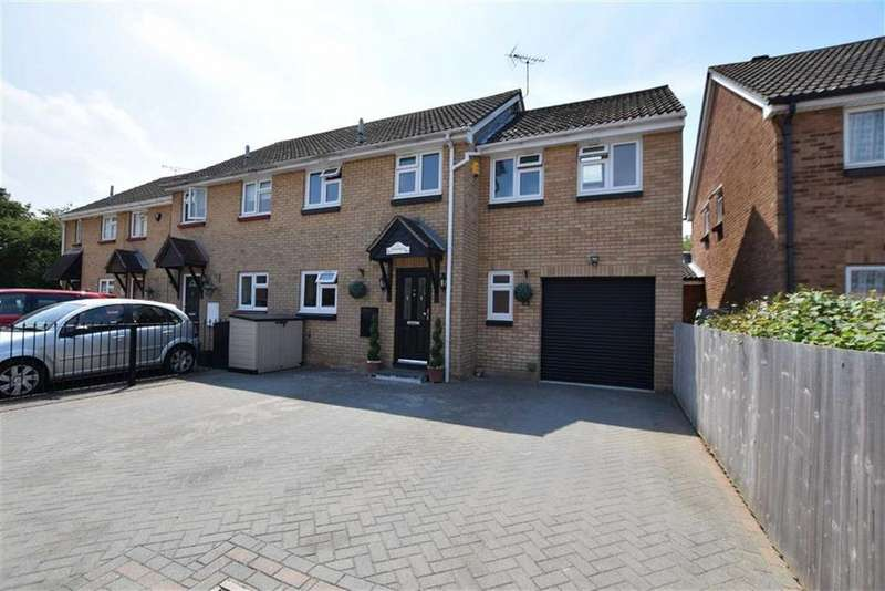 4 Bedrooms End Of Terrace House for sale in Meadgate, Basildon, Essex