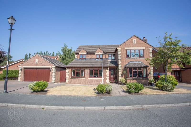 5 Bedrooms Detached House for sale in Doeford Close, Culcheth, Warrington, WA3