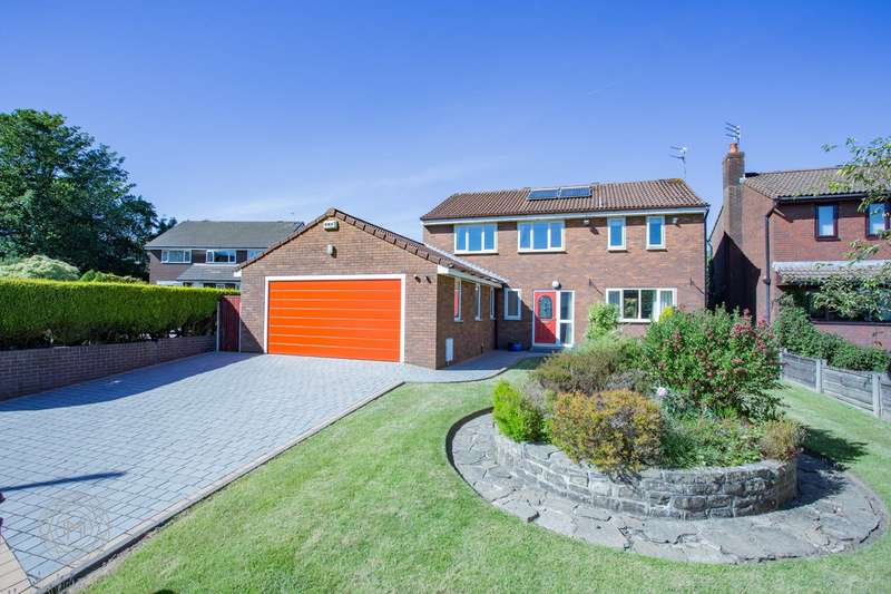 4 Bedrooms Detached House for sale in Mayfield Close, Holcombe Brook , Bury, BL0