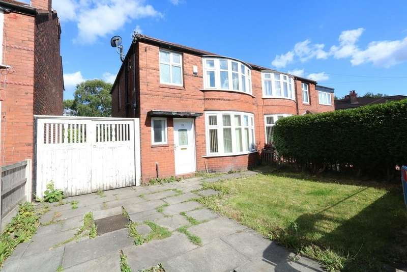 3 Bedrooms Semi Detached House for sale in Ashdene Road, Withington, M20