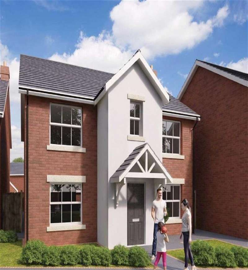 4 Bedrooms Detached House for sale in The Hamilton, Gresford, Wrexham