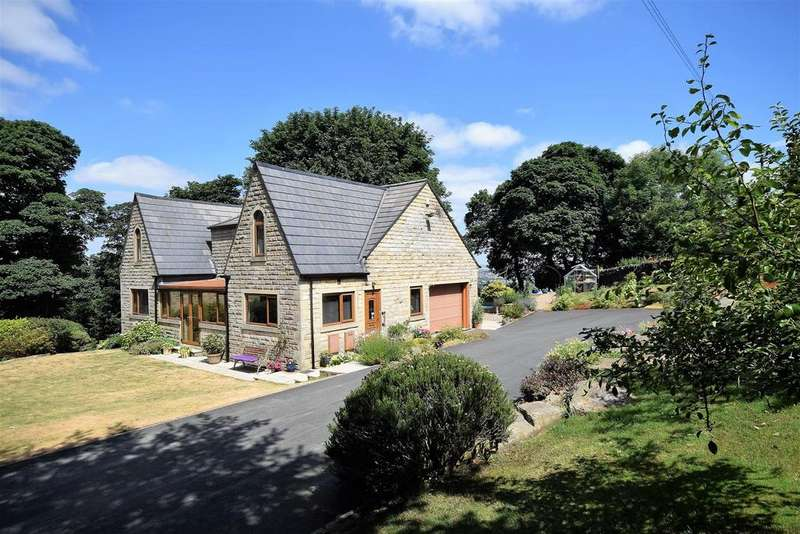 5 Bedrooms Detached House for sale in Valley View, 10 April Gardens, Queensbury, BD13 1AA