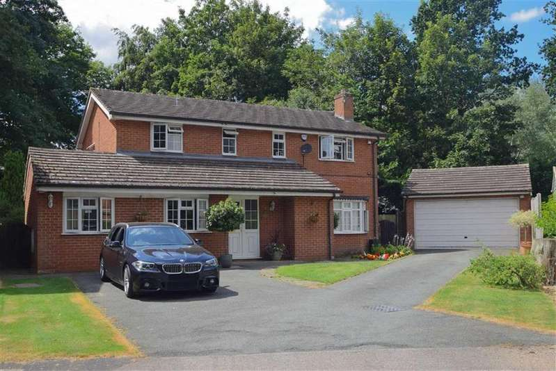 5 Bedrooms Detached House for sale in The Ryelands, Radbrook, Shrewsbury
