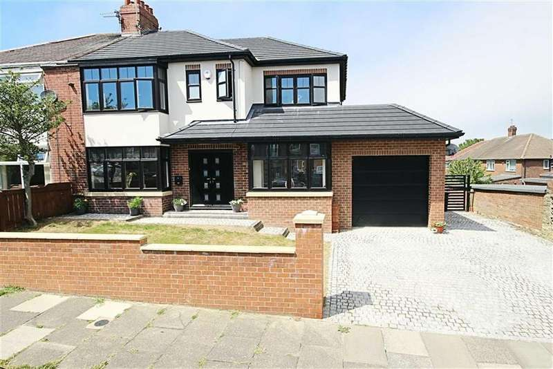 4 Bedrooms Semi Detached House for sale in Sea Way, South Shields, Tyne And Wear