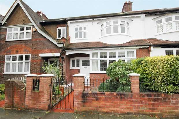 3 Bedrooms Terraced House for rent in Greenend Road, Chiswick