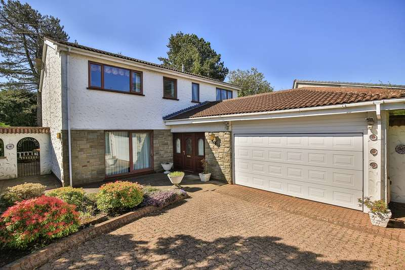 4 Bedrooms Detached House for sale in Hillcot Close, Lisvane, Cardiff