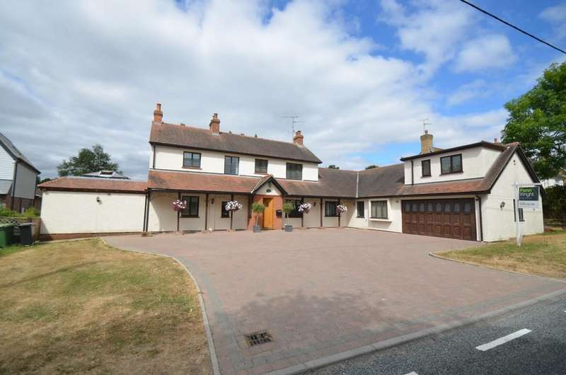 5 Bedrooms Detached House for sale in Kelvedon Road, Wickham Bishops, CM8 3LY