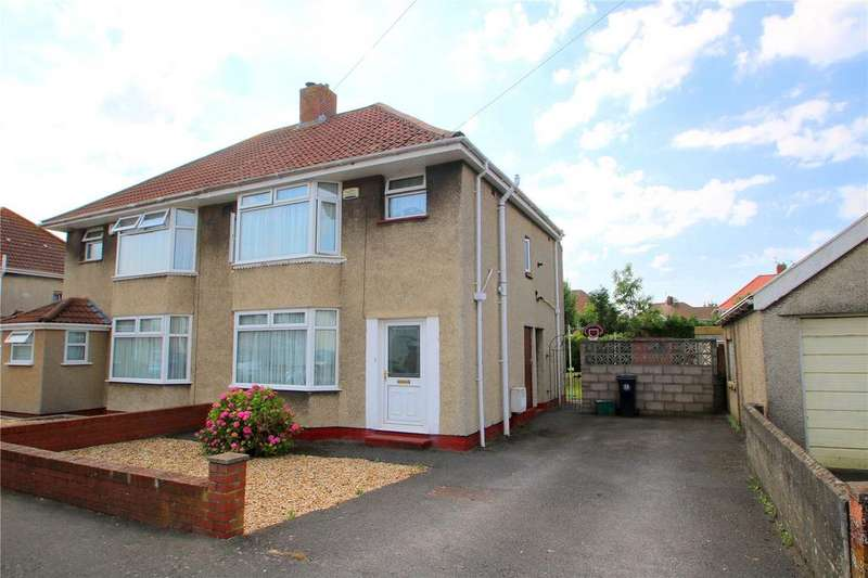 3 Bedrooms Semi Detached House for sale in Greylands Road, Uplands, Bristol, BS13