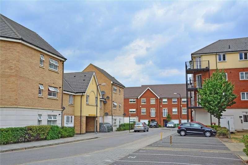 2 Bedrooms Maisonette Flat for sale in Pettacre Close, West Thamesmead, London, SE28
