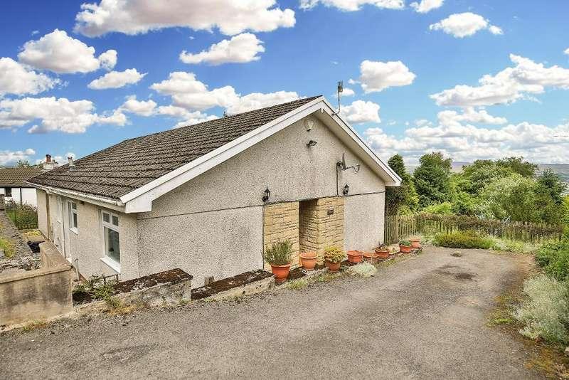 3 Bedrooms Bungalow for sale in Maes Meyrick, Heolgerrig, Merthyr Tydfil, CF48 1RZ