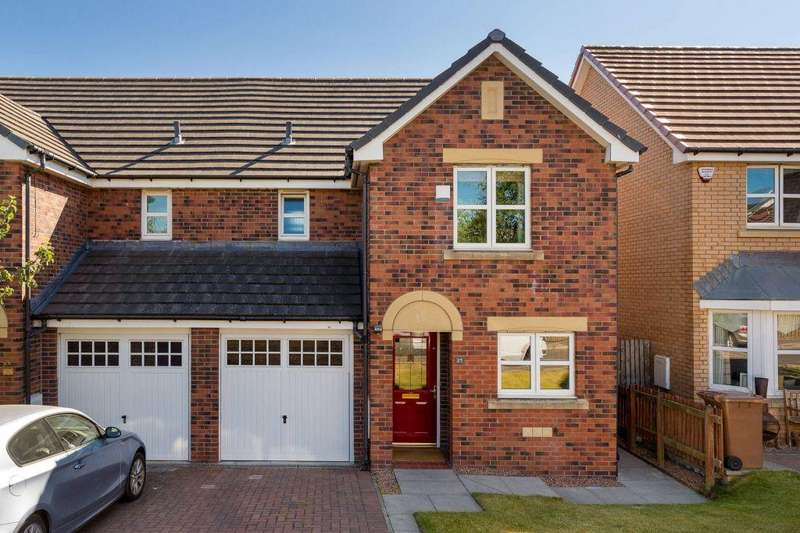 3 Bedrooms Semi Detached House for sale in 25 West Fairbrae Crescent, Saughton, EH11 3SX