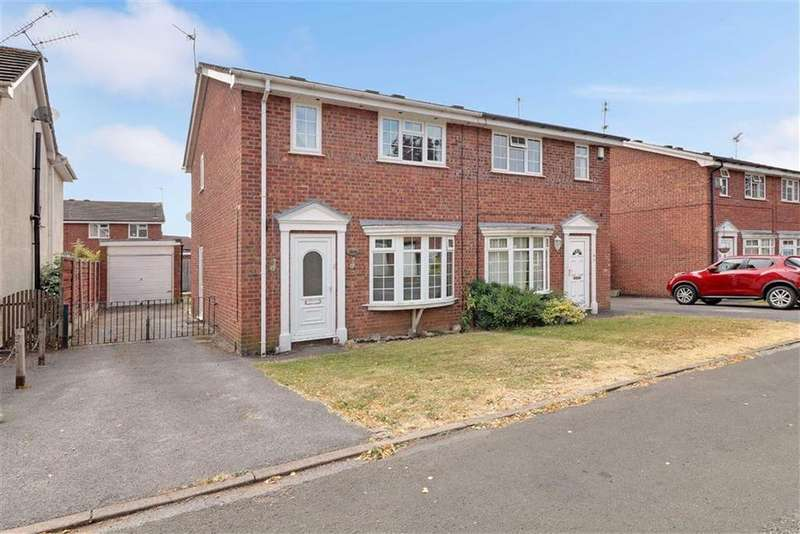 3 Bedrooms Semi Detached House for sale in Nightingale Court, Winsford, Cheshire