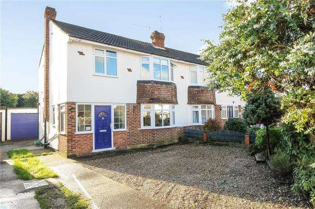 4 Bedrooms Semi Detached House for sale in Carter Close, Windsor, Berkshire