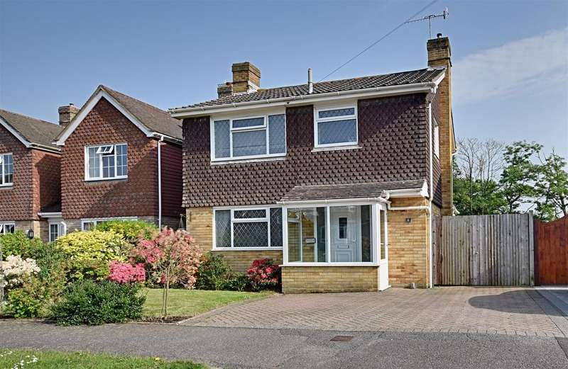 3 Bedrooms Detached House for sale in Warnham Gardens, Bexhill-On-Sea