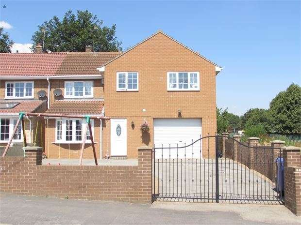 4 Bedrooms Semi Detached House for sale in Maple Grove, Conisbrough, Conisbrough, DN12 2JR