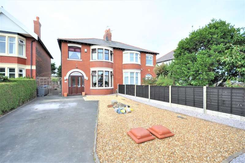 3 Bedrooms Semi Detached House for sale in Squires Gate Lane, South Shore, Blackpool, Lancashire, FY4 2NH