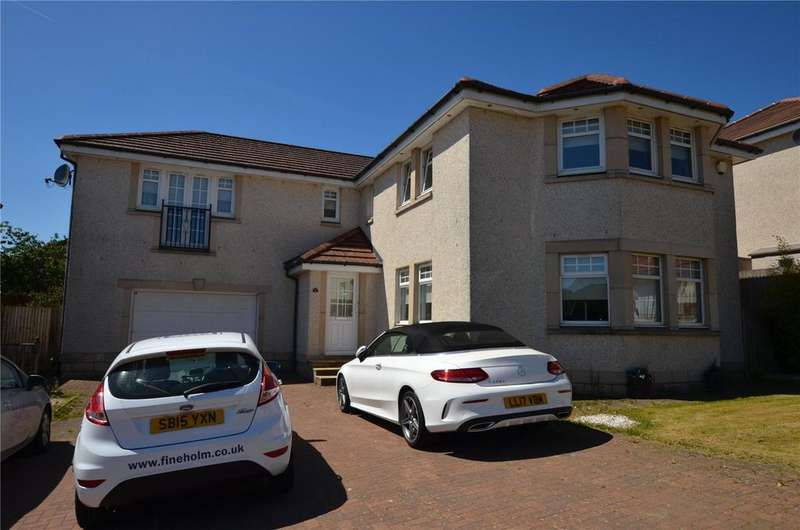 4 Bedrooms Detached House for sale in Whittington Place, Gartcosh, Glasgow, North Lanarkshire, G69