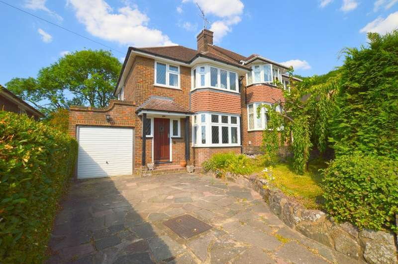 3 Bedrooms Semi Detached House for sale in Knoll Rise, Old Bedford Road Area, Luton, Bedfordshire, LU2 7JA