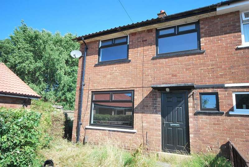 3 Bedrooms End Of Terrace House for sale in Fairhurst Drive, Little Hulton, Manchester