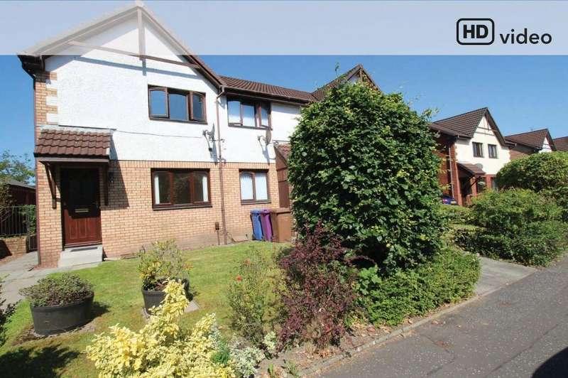 2 Bedrooms End Of Terrace House for sale in Mellerstain Drive , Yoker, Glasgow , G14 0LJ