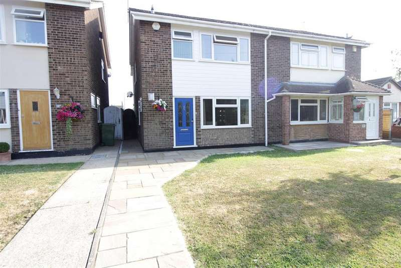 3 Bedrooms Semi Detached House for sale in Maytree Walk, Benfleet