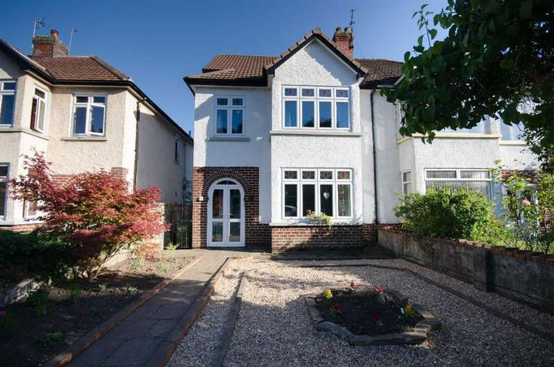 4 Bedrooms Semi Detached House for sale in Westerleigh Road, Downend, BS16 6AA