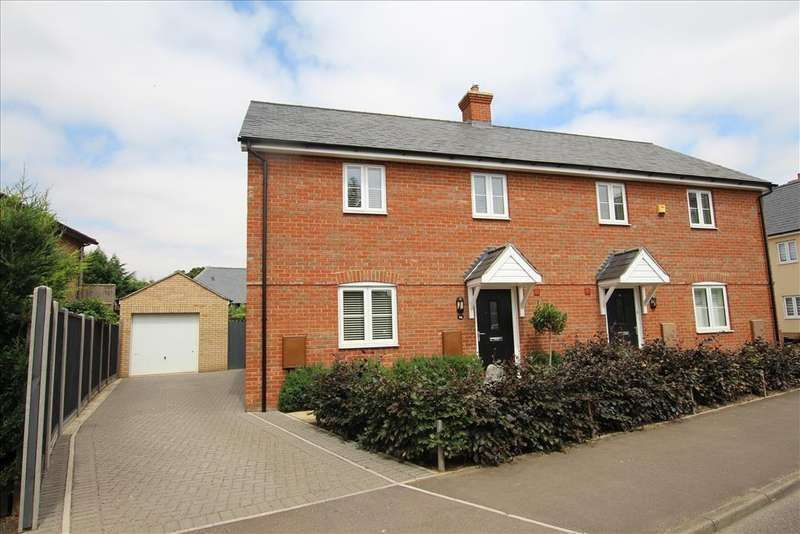 3 Bedrooms Semi Detached House for sale in Mill Lane, Potton, SG19