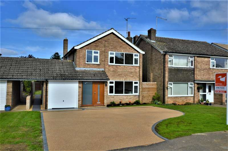 3 Bedrooms Property for sale in Porters Lane, Easton On The Hill, Sta...