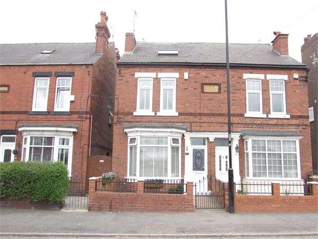 3 Bedrooms Semi Detached House for sale in Park Road, Conisbrough, DN12 2EH