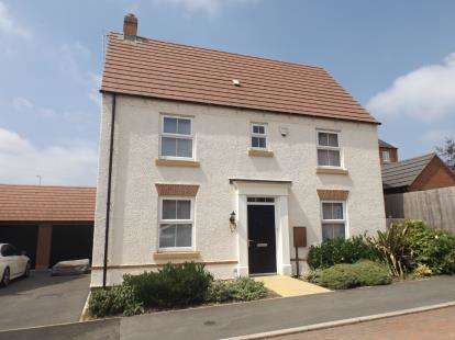 3 Bedrooms Detached House for sale in Dairy Way, Kibworth Harcourt, Leicester, Leicestershire