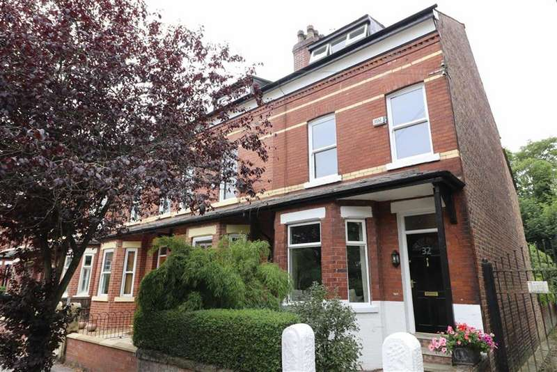 3 Bedrooms End Of Terrace House for sale in Brundretts Road, Chorlton, Manchester, M21