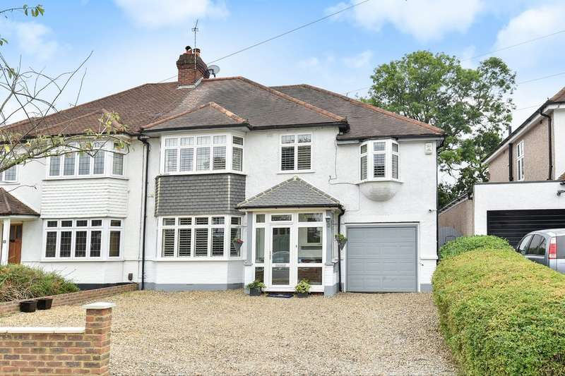 5 Bedrooms Semi Detached House for sale in Hayes Chase, West Wickham