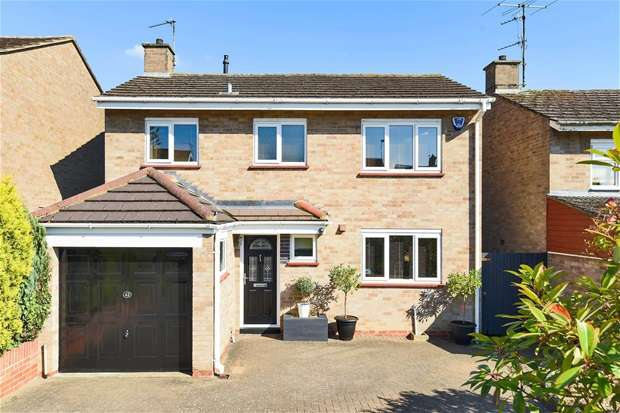 3 Bedrooms Detached House for sale in Haylands Way, Bedford