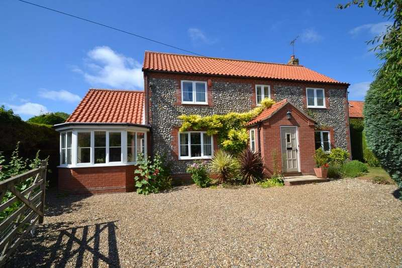4 Bedrooms Detached House for sale in Cley Next The Sea