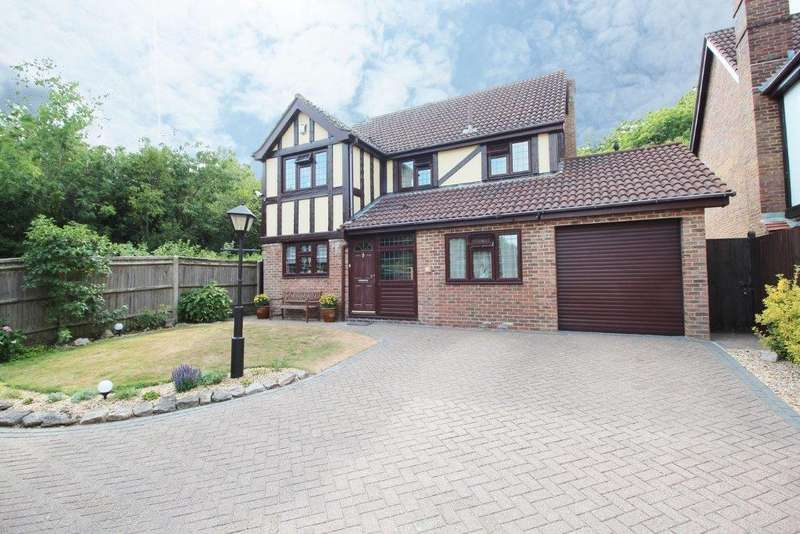 4 Bedrooms Detached House for sale in Elliot Rise, Grange Park SO30
