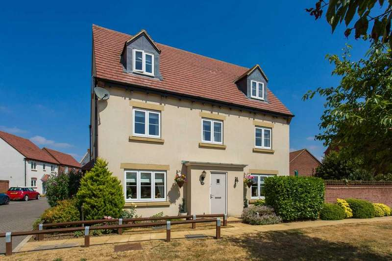 5 Bedrooms Detached House for sale in Goodwood Close, Bicester, Chesterton OX26 1AA