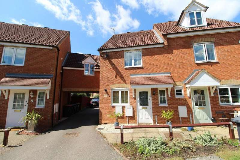 2 Bedrooms Semi Detached House for sale in Birbeck Close, Clapham, MK41 6GJ