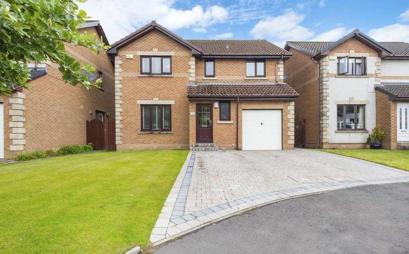 4 Bedrooms Detached Villa House for sale in 37 Michael McParland Drive, Torrance, Glasgow, G64 4EE